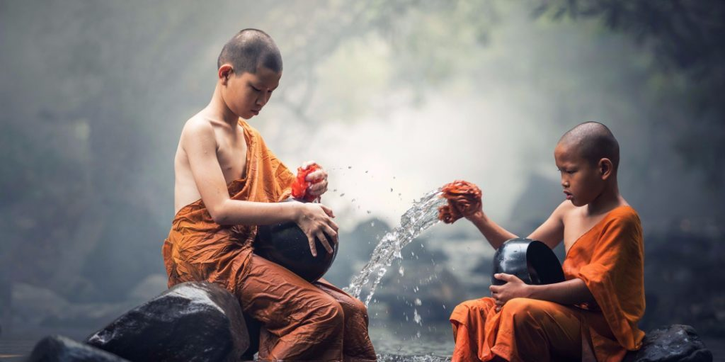becoming a monk