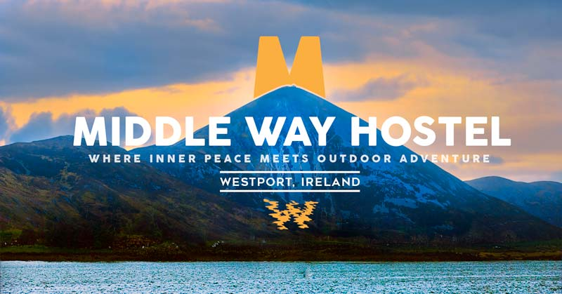 middle way hostel branding