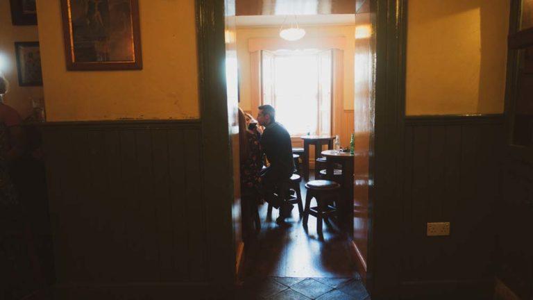 lovely irish pub atmosphere