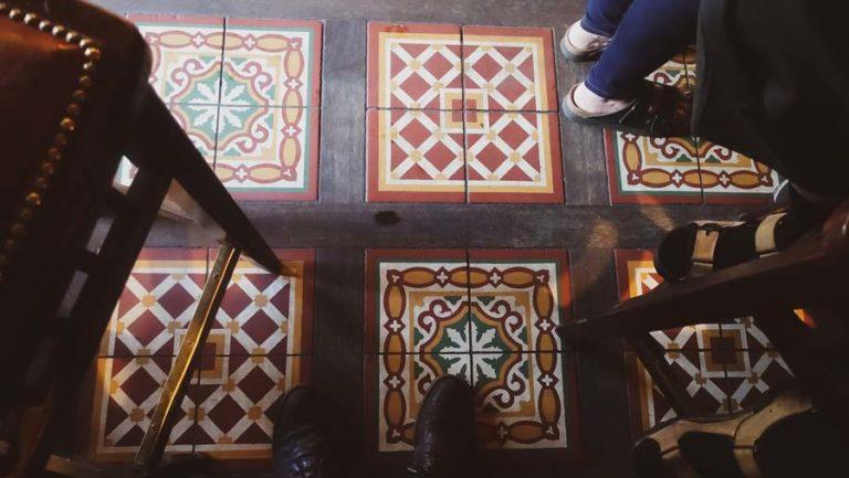 Amazing irish pub floor