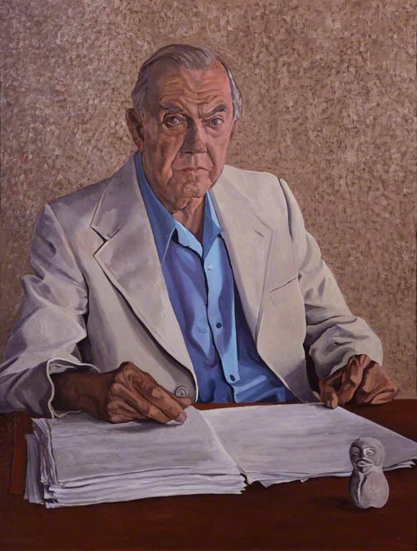 Artist Graham Greene