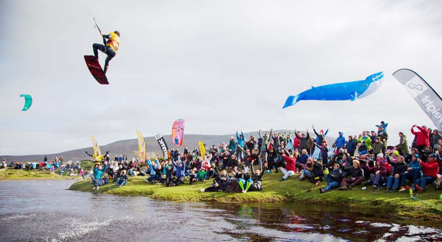 Battle for the lake Achill Island