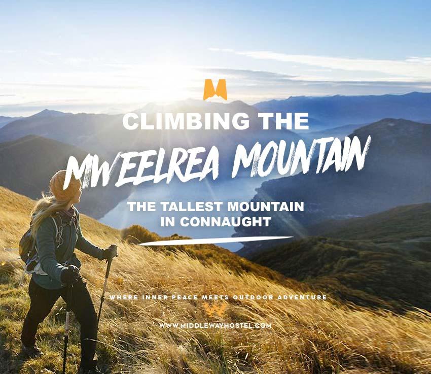 Climbing Mweelrea Mountain