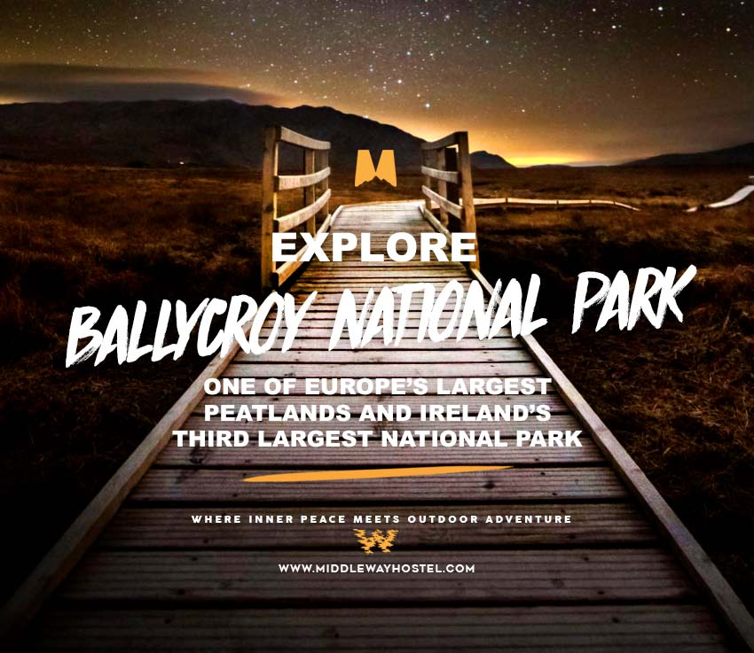ballycroy national park at night