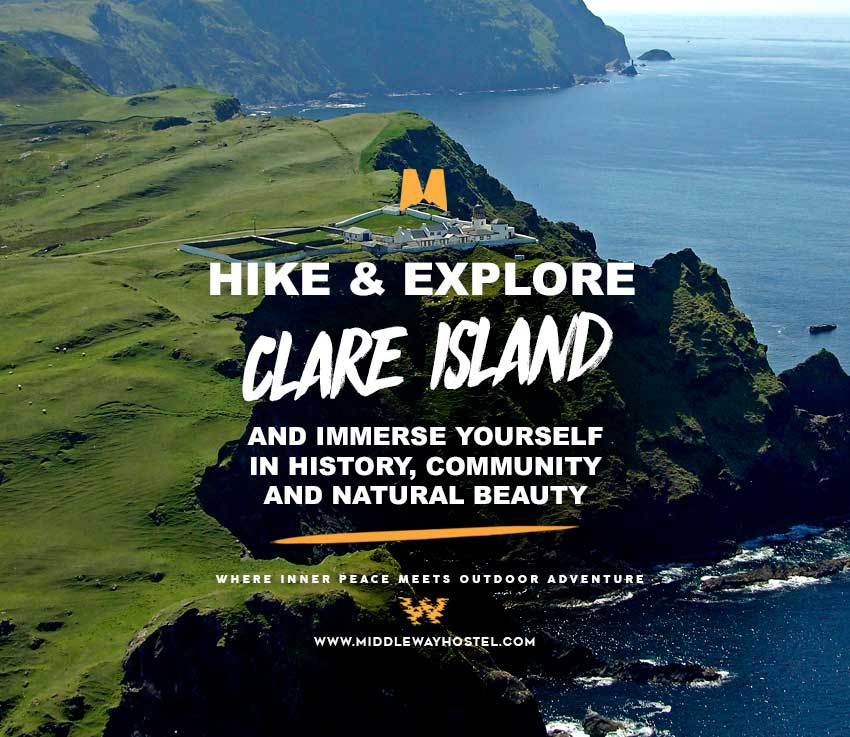 how to get to clare island