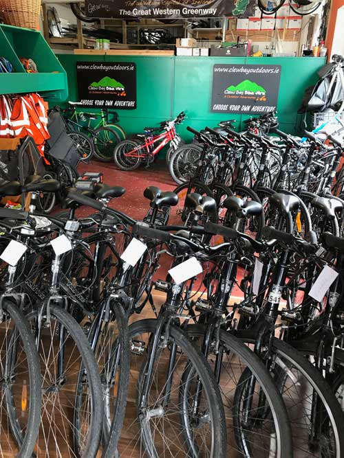 Clew Bay Bike Hire, Westport