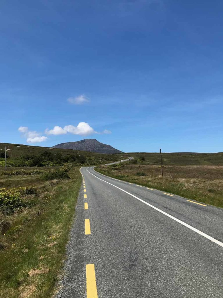 cycling achill to keel