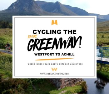 cycling the greenway westport to achill