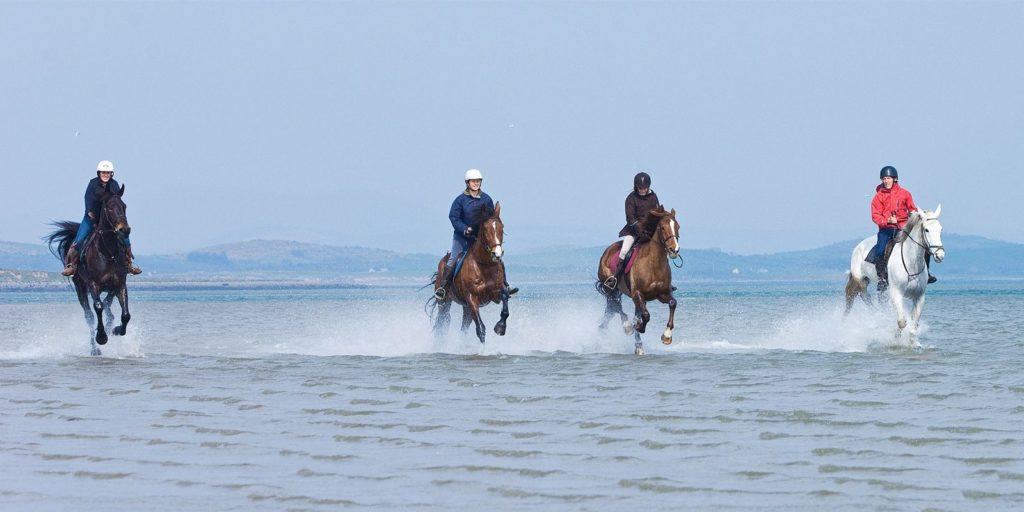 horse riding achill island