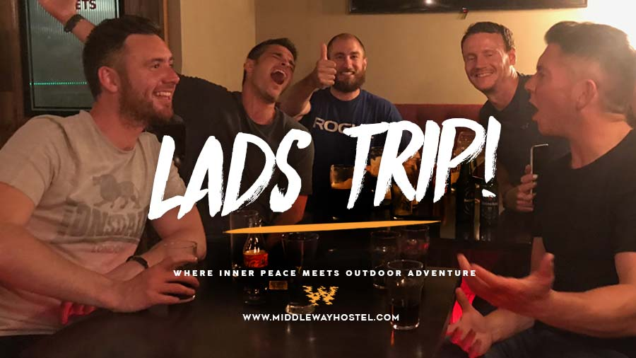 lads trip west of ireland