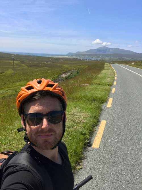 renting a bike on achill island