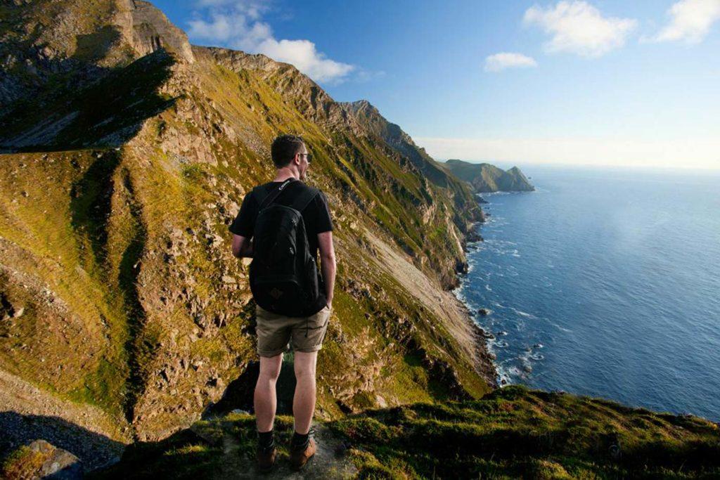 croaghan cliffs achill island