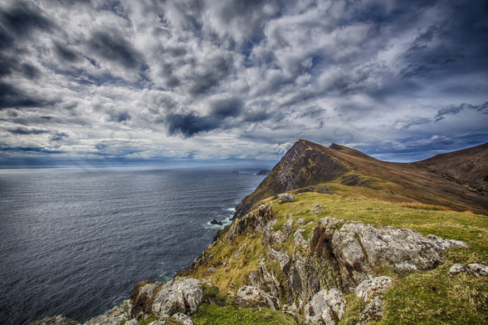Croaghaun Sea Cliffs, Achill Island, Co Mayo, Ireland