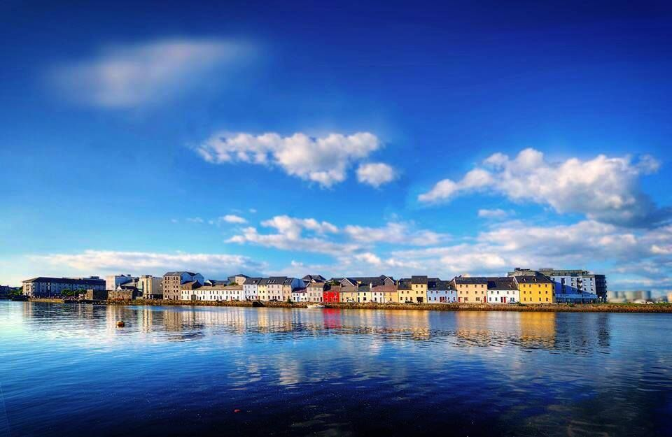 galway city by the sea